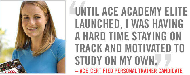Until ACE Academy Elite launched, I was having a hard time staying on track and motivated to study on my own.