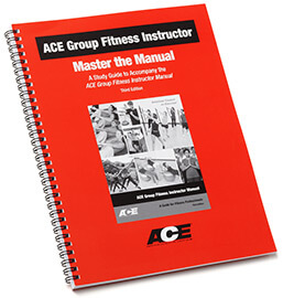 ACE Group Fitness Instructor Master the Manual Study Guide