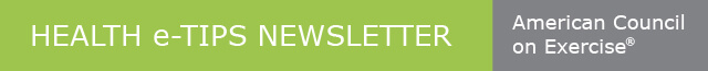 Health e-Tips Newsletter