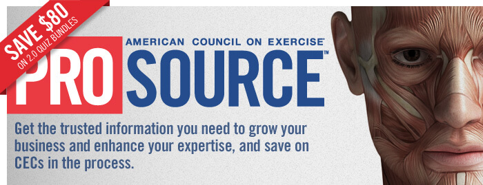 ProSource™: Get the trusted information you need to grow your business and enhance your expertise, and save on CECs in the process.