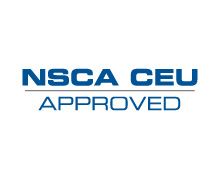 ACE continuing education credits are equally accepted as NSCA continuing education credits.