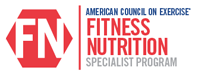 Fitness Nutrition Specialty Certification