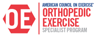Orthopedic Exercise Specialty Certification
