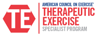 Therapeutic Exercise Specialty Certification